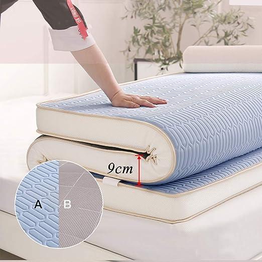 ZXYY Colchón de futón de látex colchón de Piso Plegable colchón de ...