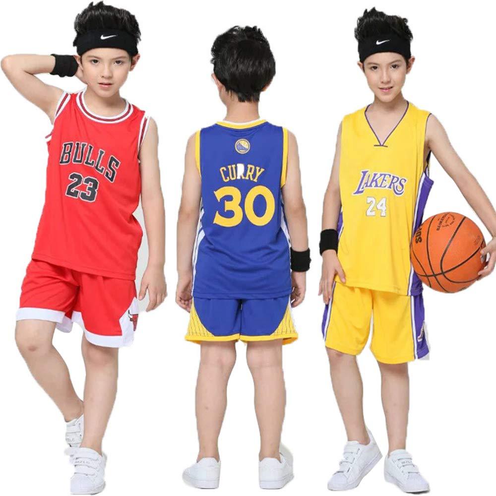 Hanbao Maillots de Baloncesto para Niños - Conjunto NBA Chicago ...