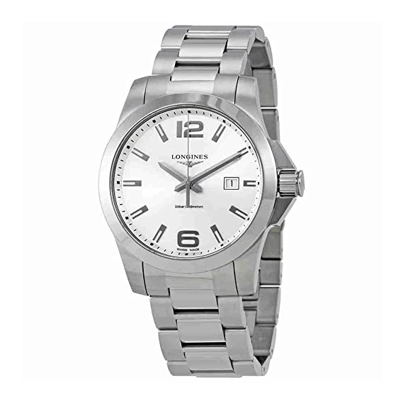 Longines - Longines Conquest L3.760.4.76.6 - L37604766: Amazon.es: Relojes