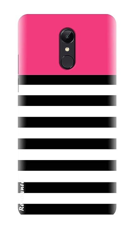 new product 480cd 3d330 Renowned Xiaomi Redmi Note 5 Designer Back Cover | Redmi Note 5 Printed  Back Cover - Black Strip l White l Girl l Cute l Fancy