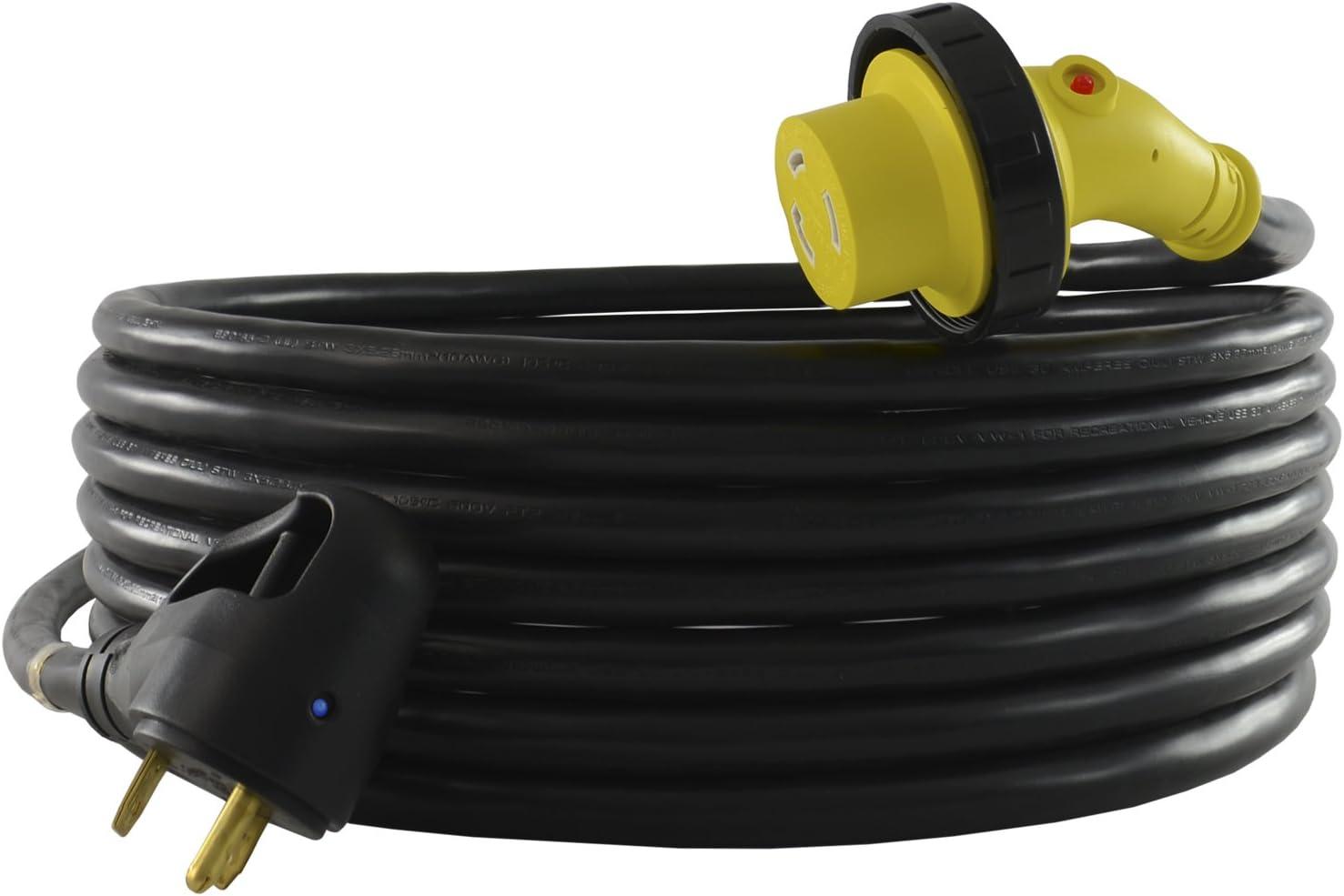 Conntek 15350-LA6 30 Amp RV Power Supply Cord, UL Listed 50 Feet