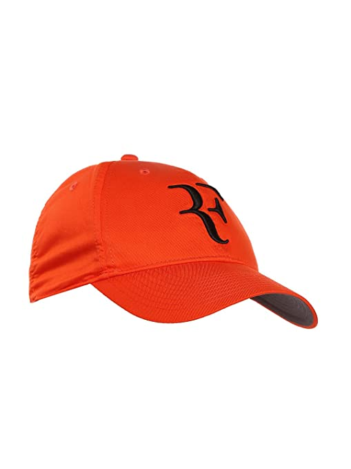 1ea00395b8b Buy Nike Roger Federer Tennis Cap (Orange) Online at Low Prices in India -  Amazon.in