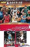 #9: 2017/18 Panini NBA Basketball MASSIVE Factory Sealed Sticker Box with 50 Packs & 350 Brand New MINT Stickers of all your Favorite NBA Stars! PLUS BONUS (2) VINTAGE Michael Jordan Bulls Cards! WOWZZER!