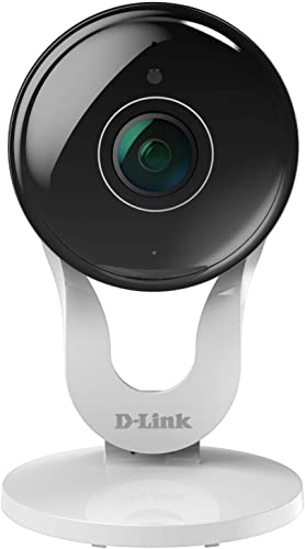 D-Link Security Camera Indoor Outdoor HD Video Dome Surveillance System Motion Detection Sensor Full HD Renewed