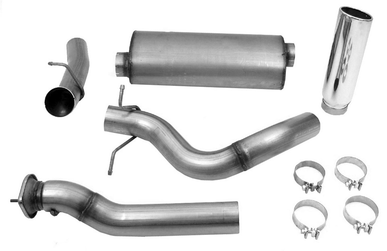 5. Dynomax 39511 Exhaust System Kit