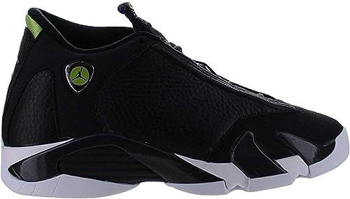 jordan 14 black and green
