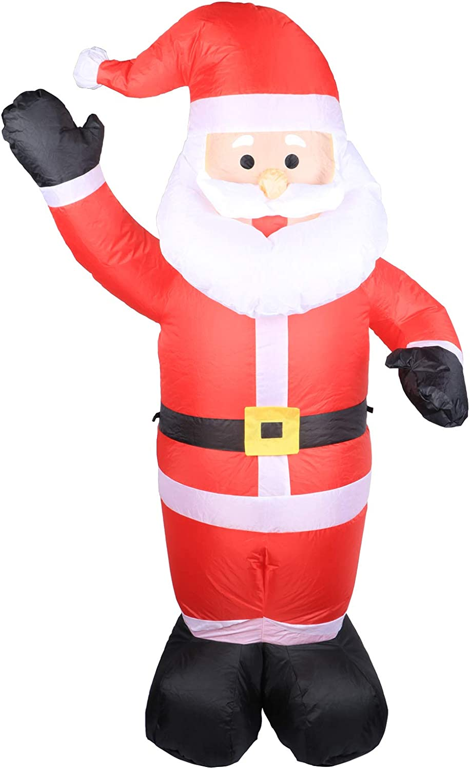 WONDER GARDEN Christmas Inflatable Model Santa Claus Inflatable Model Christmas Decoration