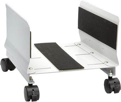 Secomp 17.05.1516 - Soporte móvil para Caja de Ordenador de sobremesa, Color Blanco: Nilox: Amazon.es: Informática