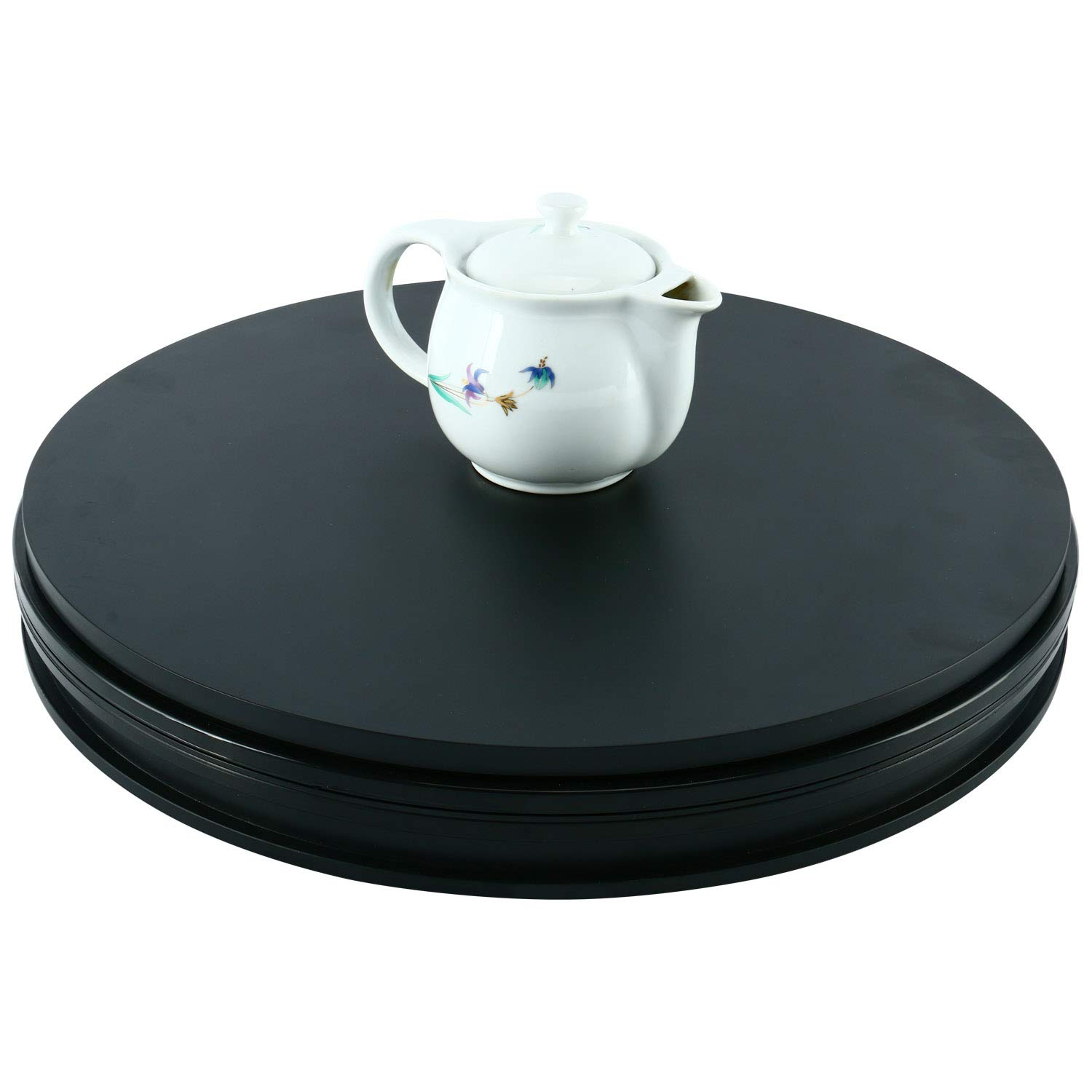 110V Electric Motorized Rotating Turntable Display Stand Black Homend Rotating Display Stand 18inch//45cm Diameter
