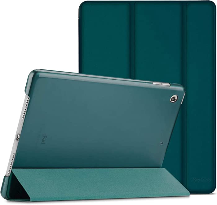 "ProCase iPad 10.2 Case 2020 iPad 8th Generation Case / 2019 iPad 7th Generation Case, Slim Stand Hard Back Shell Protective Smart Cover for 10.2"" iPad 8 / iPad 7 -Emerald"