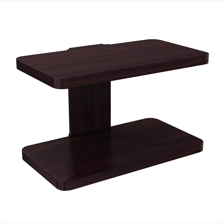 1 - Best Budget Floating shelf for TV: Stony-Edge Floating Wooden Wall Mount Shelf