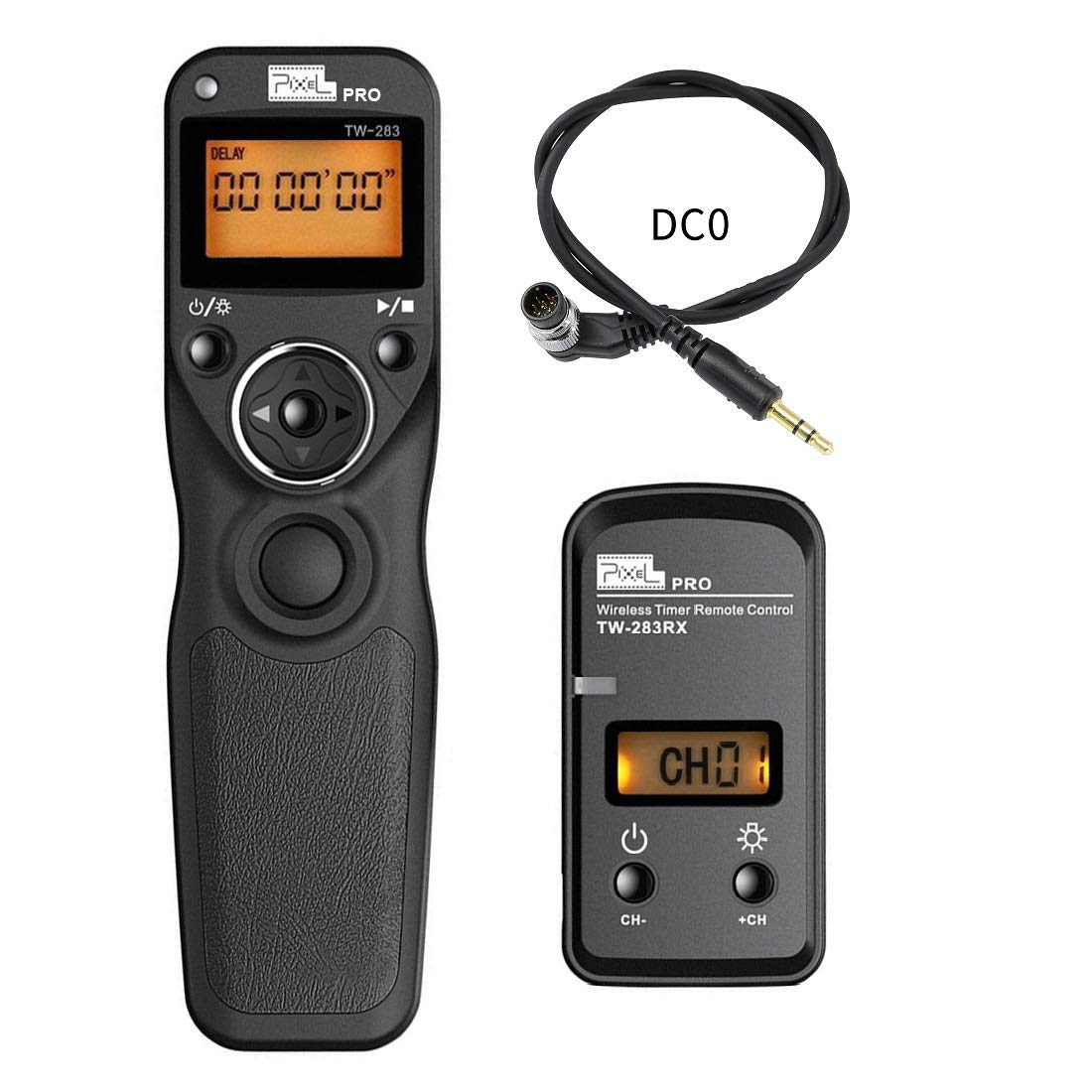 Wireless Shutter Release Timer Remote Control for Nikon SLR DC0 D800 D810 D700 D500 D200 Series D4 D5 F5 F6 F100, Fujilm S5,S3 PRO Kodak DCS-14N and Many More Types of SLR