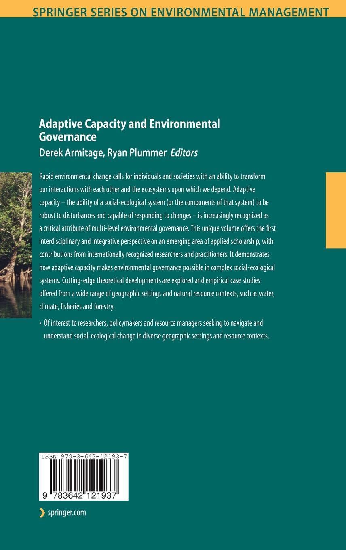 Background: adaptive capacity