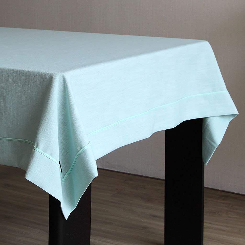 Shuangdeng テーブルクロスティーテーブルクロス模造リネン長方形テーブルクロスリビングルームホテルテーブルクロス (Color : A1, サイズ : 140*200CM) 140*200CM A1 B07R9M856B
