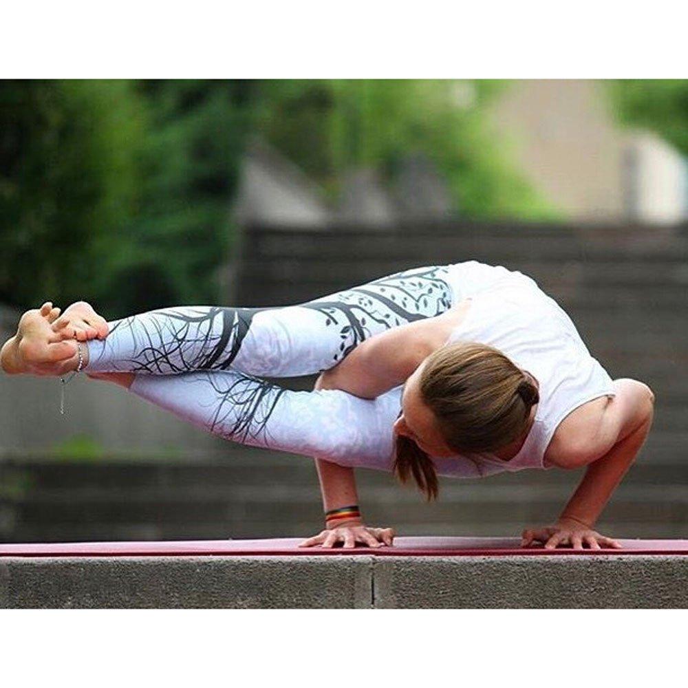 Dwevkeful Pantalones de Yoga de Leggings con Estampado de /árboles Grandes para Mujer Slim Fit El/áStico Atractivo Pantalones fluidos para Yoga Danza Ganduleado Fitness Pilates