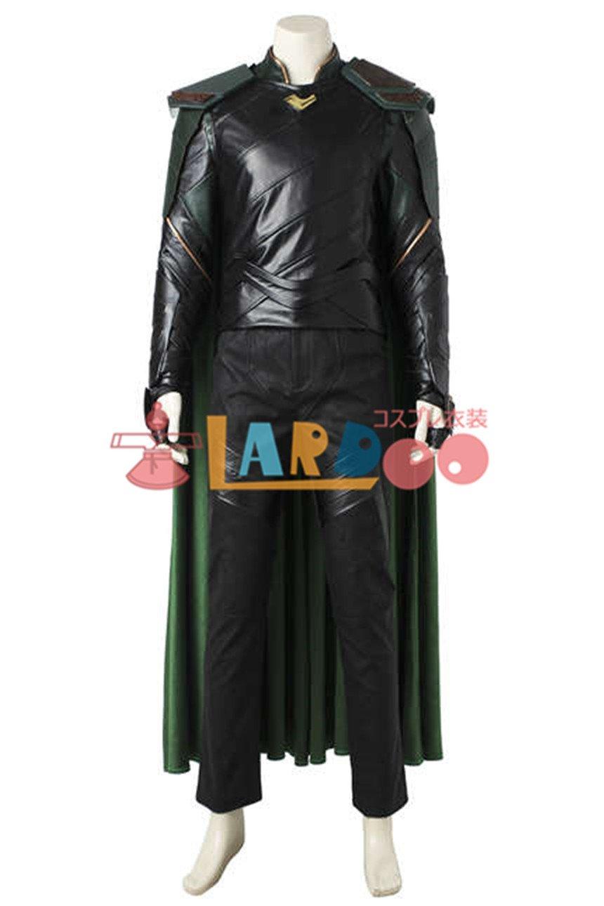 Thor: Ragnarok ソー/ラグナロク ロキ ブーツ付き コスプレ衣装 Marvel Studios コスチューム ハロウィン cosplay B079LXRJZD 女 S  女 S