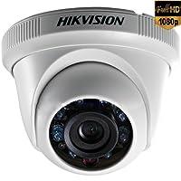 Câmera Dome Flex, HIKVISION, DS-2CE56D0T-IRPF, Branca