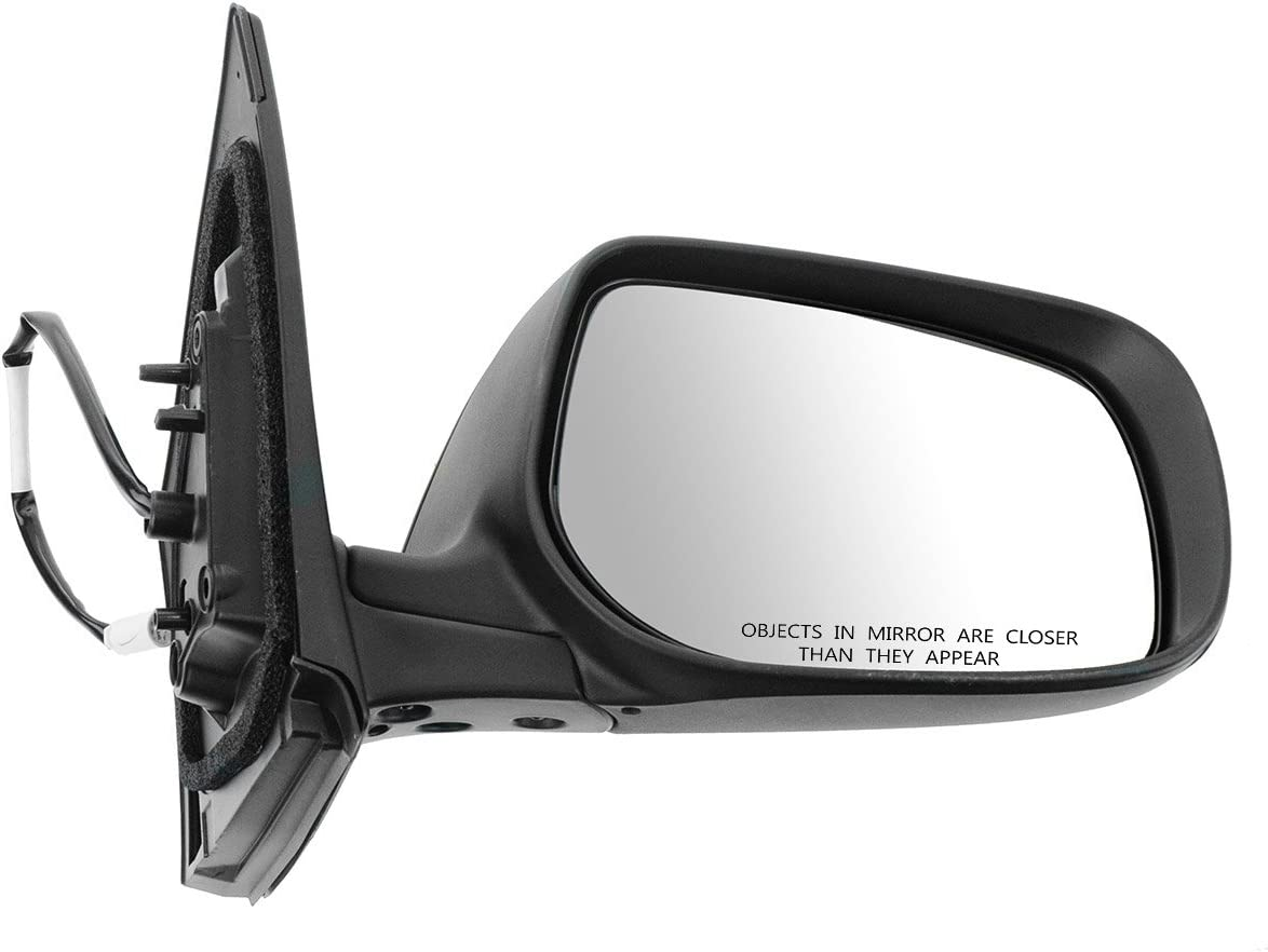 NEW GRAY 2009-2013 Corolla Right Passenger Door Mirror Power NonHeated