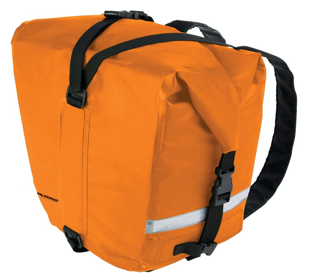 Nelson Rigg (SE-2060-ORG) Survivor 100% Waterproof Saddlebags Mount to most Adventure and Dual sport motorcycle