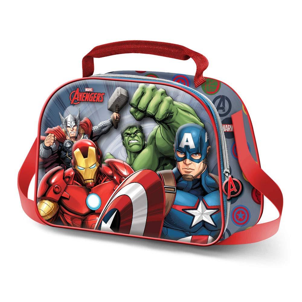 Karactermania The Avengers Force-3D Fr/ühst/ückstasche Bolsa Escolar 26 Centimeters Multicolour