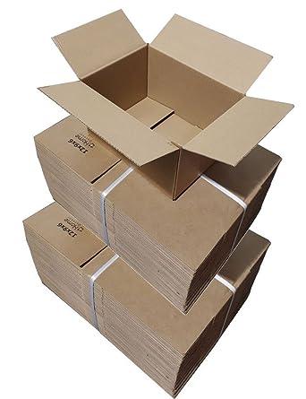 HomeOutdoor® cajas de cartón 12 x 9 x 6 pulgadas (12x9x6) 305 x