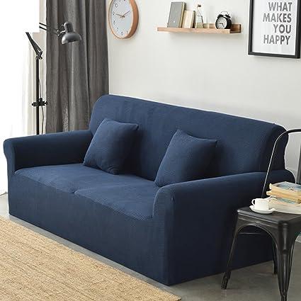 Funda elástica para sofá Sala de estar Protector para sofás ...