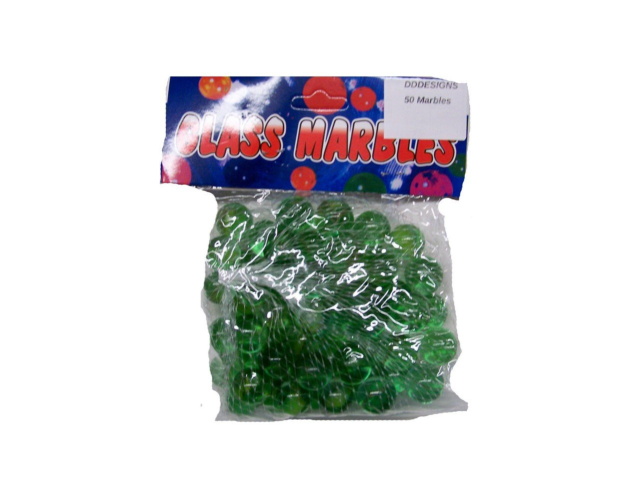 Bag of 50 Cats Eye Marbles + Shooter B00QS1M7E2
