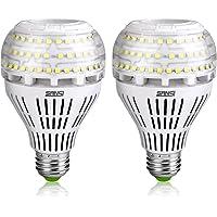 2Pk Sansi A21 22W 250-200Watt Equivalent Omni-directional Ceramic LED Light lumens
