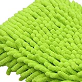 Jumbo Green Car Wash Washing Microfiber Chenille mitt Cleaning TKT-11