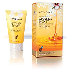 Wild Ferns Pure New Zealand Manuka Honey Protective Hydrating Moisturiser SPF 30