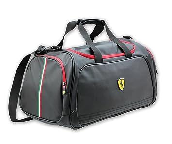 Ferrari Sport Bag, Santander, de tiempo libre y bolsa de deporte, color negro