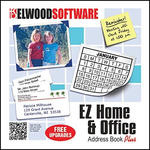 EZ Home and Office Address Book Software 61fQfIMzHeL