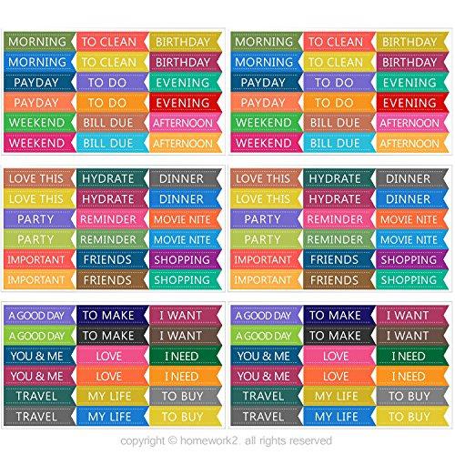 Calendar Stickers Planner: Amazon.com