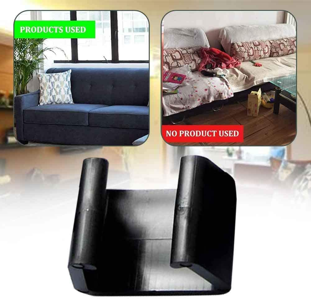 SKYHY224 10pcs Outdoor Patio Garden Wicker Rattan Furniture Aligment Sofa Rattan Chair Fastners Clip Sectional Connector