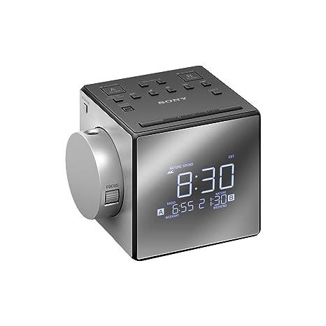Amazon.com: Sony ICFC1PJ Radio Reloj con el tiempo Proyector ...