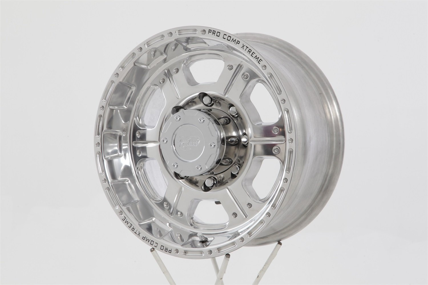 Pro Comp Alloys Series 89 Wheel with Polished Finish (17x8''/8x165.1mm)