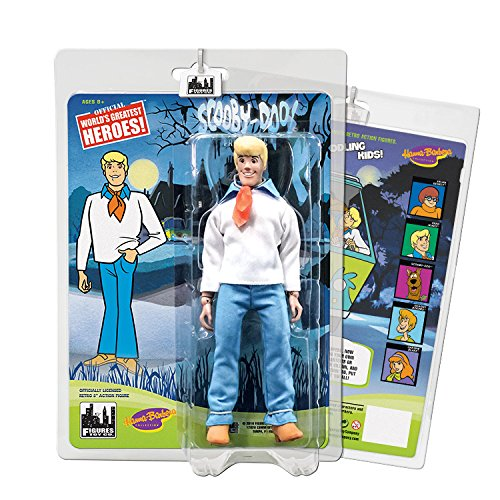 Scooby Doo Retro 8 Inch Action Figures Series One: Fred