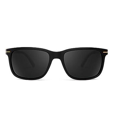 Jim Halo Gafas de Sol Polarizadas Retro Clásico Cuadradas Conducir Anteojos Hombre Mujer