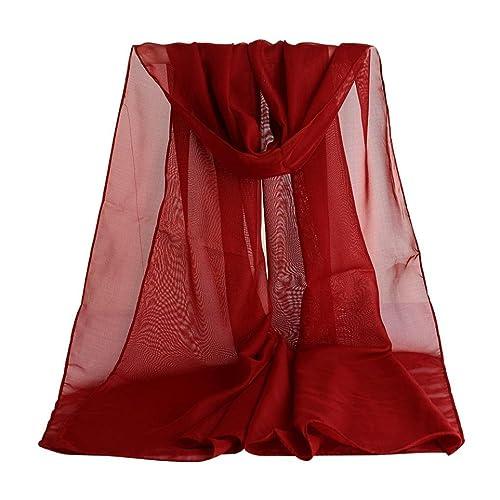 hunpta - Set de bufanda, gorro y guantes - para mujer rojo rosso Talla única