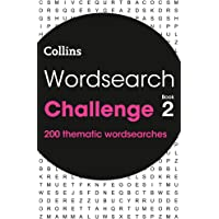 Wordsearch Challenge book 2: 200 themed wordsearch puzzles