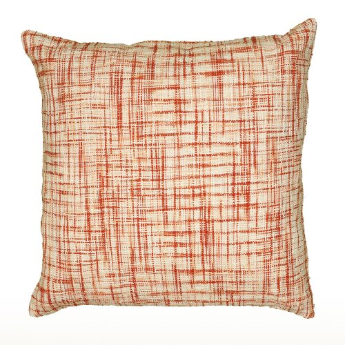 61fQi4CTISL - Rizzy Home T06525 Woven Cotton Pattern on Two Sides Decorative Pillow, 22 by 22-Inch, Orange