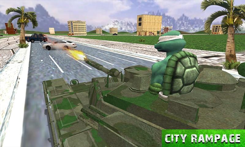 Turtle Hero Ninja Warrior: Tank Attack: Amazon.es: Appstore ...