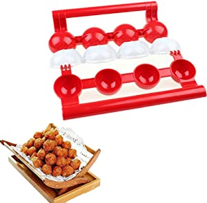 Novice Meatball Mold Machine Homemade Stuffed Meatball Fish Ball Burger Machine Mold, Kitchen Meatball Machine Making Mold Rodalind