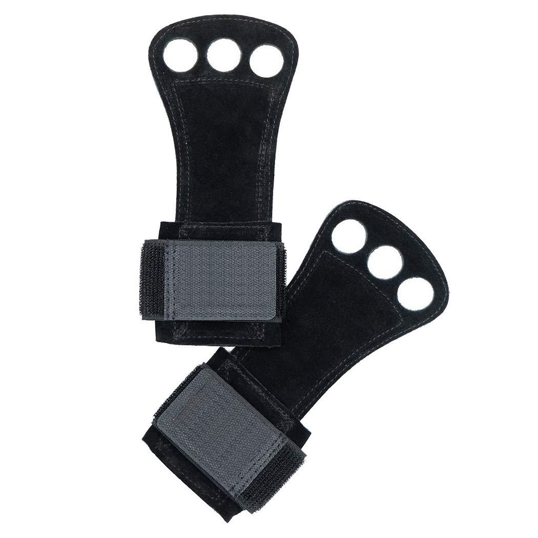 HUIFEI Bergsteigerhandschuhe Anti-Rutsch-Armband Fitnesshandschuhe Verschleißfestes Taktisches Lederhandschuh-Armband