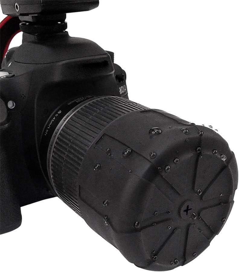 Single Lens Cap,for 60-110mm Lenses(2PCS) Lifetime Coverage Fits 99/% DSLR Lenses Element Proof (2 PCS) MonthSir Silicone Camera Lens Cap Original Universal Lens Cap