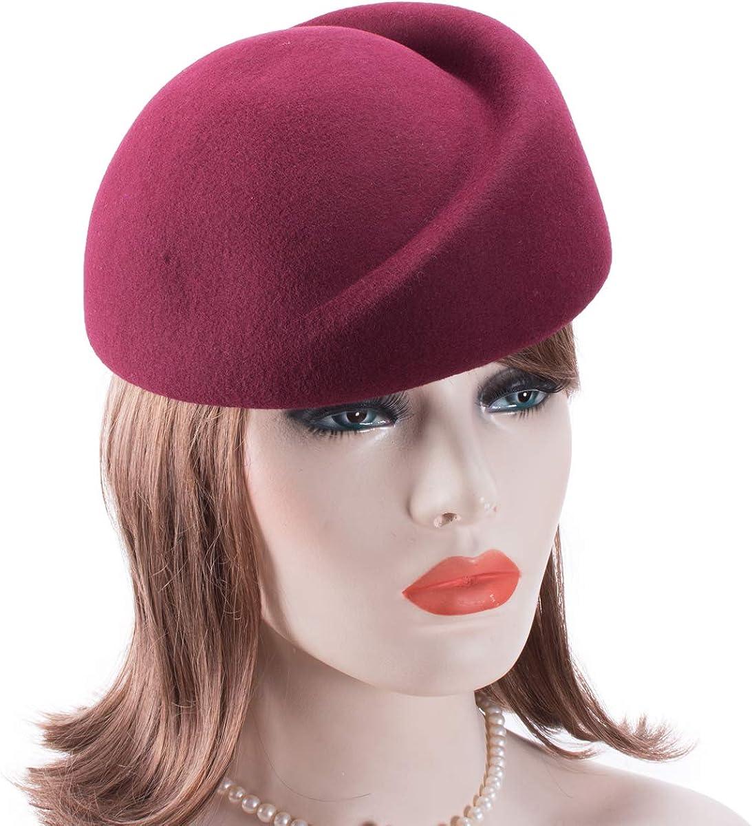 Cappello da donna in lana Lawliet stile vintage per creare cappelli a cerchio