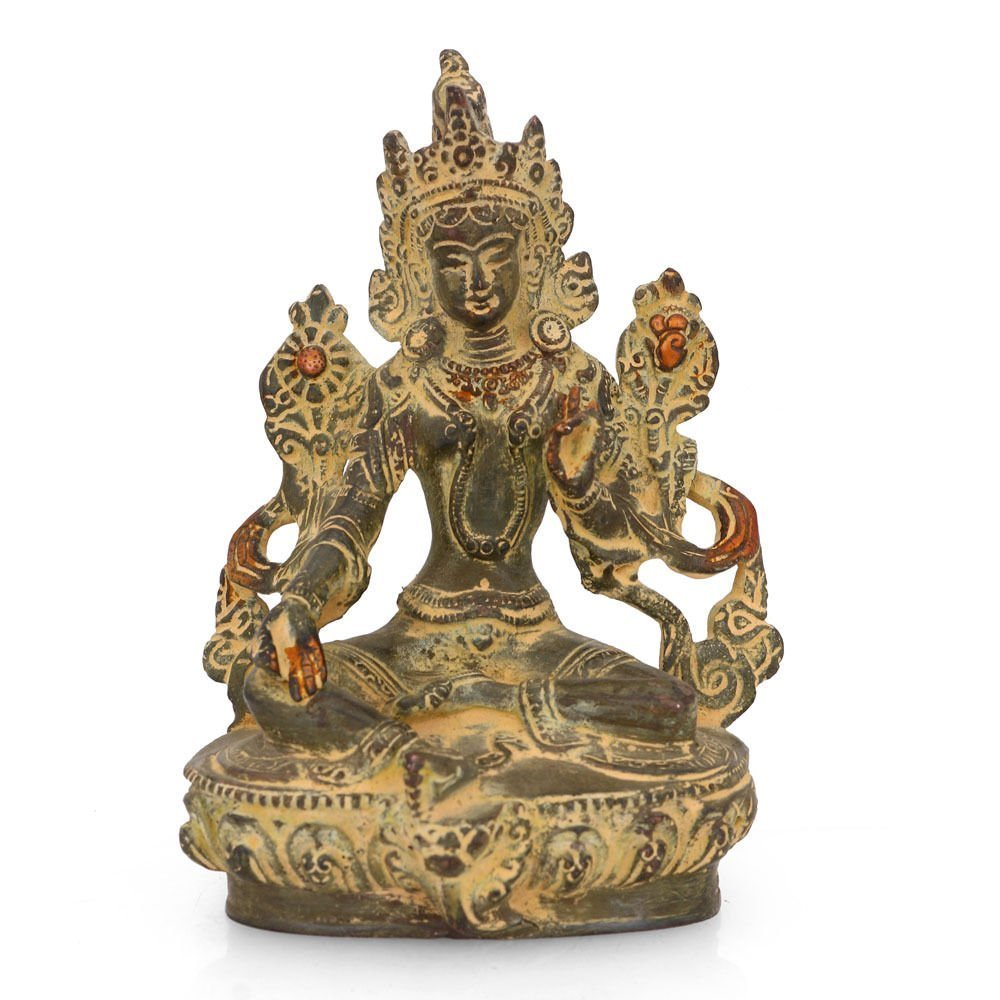 AapnoCraft Unique Tara Buddha Statue Thai Blessing Buddha Sculpture Buddhism Sculpture-Vintage Showpiece For Home & Office by AapnoCraft