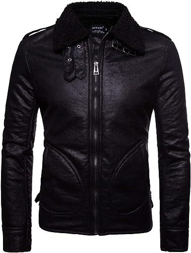 manteau homme simili cuir