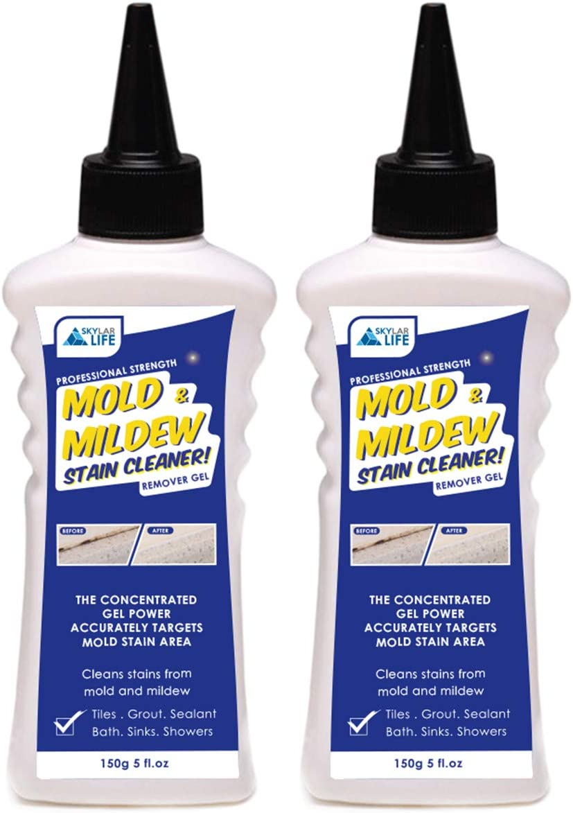 Skylarlife Home Grout Stain and Sealant Stain Whitener for Tiles Grout Sealant Bath Sinks Showers (2-Pack)
