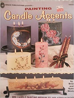 Painting candle accents add candle painting medium to any for Candle painting medium